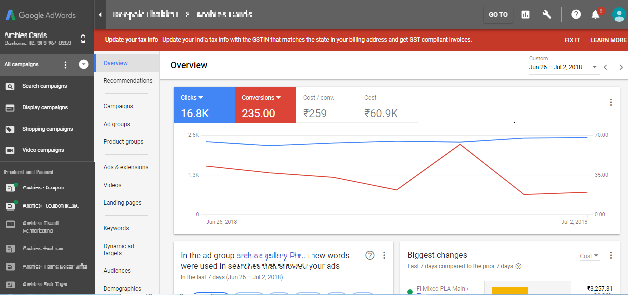 google adwords new interface 2018