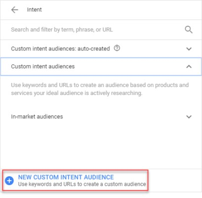 adwords-custom-intent-audience