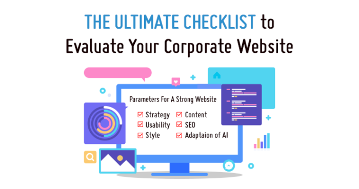 corporate-website-evaluation-checklist